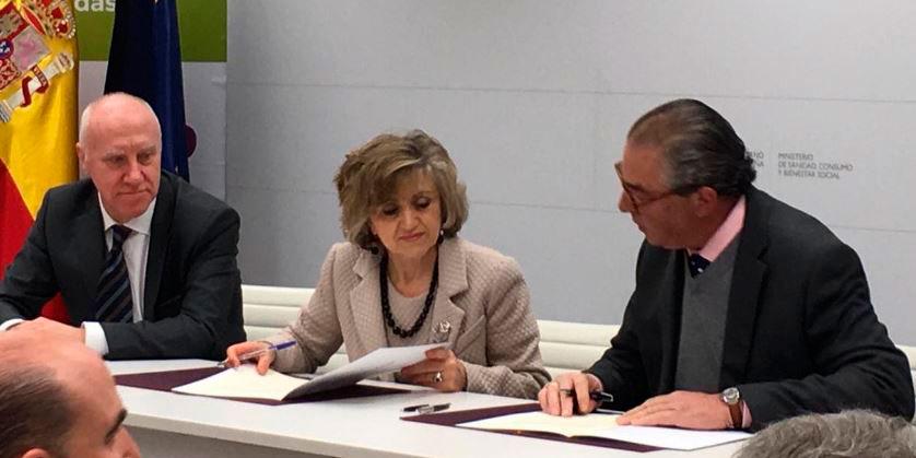Acuerdo con el Ministerio de Sanidad para la reducción de azúcares, sales y grasas en los alimentos