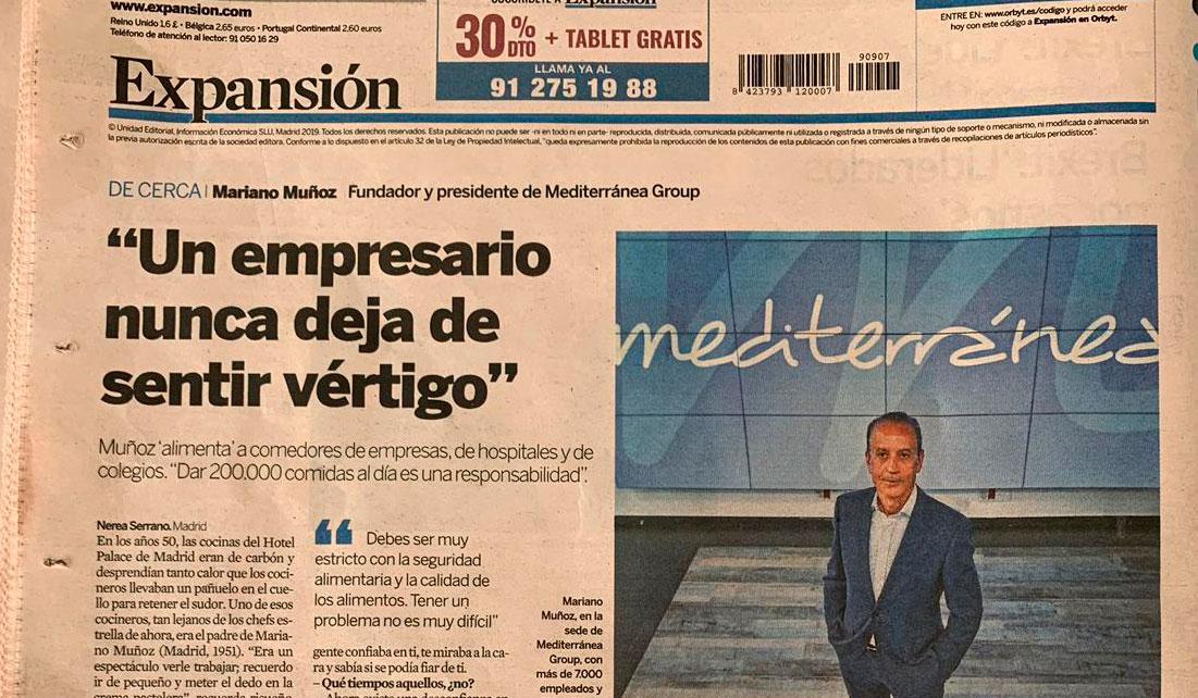 Entrevista a Mariano Muñoz, fundador y presidente de Mediterránea Group