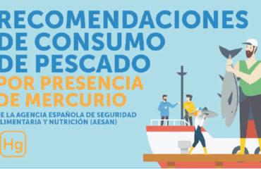 Recomendaciones AESAN sobre el consumo de pescado